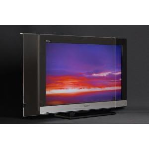 液晶テレビ保護パネル 32HE1専用『液晶テレビ保護パネルL型「クリアー(光沢)」(TOSHIBA_東芝_REGZA_レグザ_32HE1専用)』