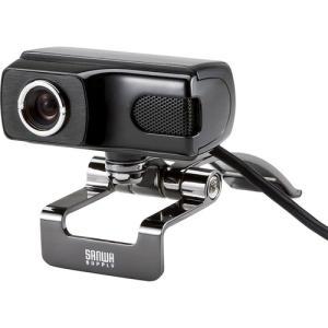 サンワサプライ FULL HD WEBカメラ 《ブラック》 (CMS-V40BK)