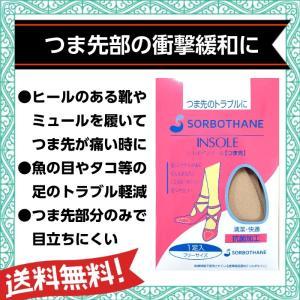 ソルボインソールつま先 ハーフタイプ 【10】|actika