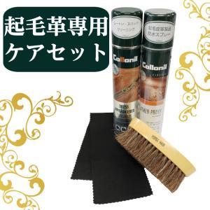 コロニル起毛革お手入れセット|actika
