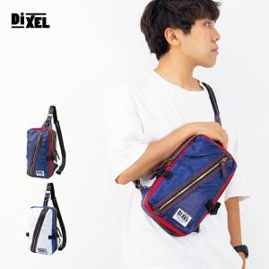 ボディバッグ レディース 人気 ナイロン Dixel 斜め掛け 合皮 革 ワンショルダー メンズ ブランド ボディ バッグ ボディバッグ|actionbag