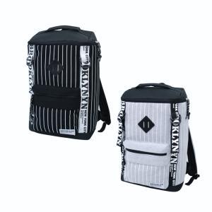 リュックサック ストライプ スウェット スクエア リュックサック バックパック メンズ レディース 鞄 通勤 通学 A4 軽量|actionbag