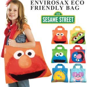 Envirosax エンビロサックス セサミストリート エコバッグ トートバッグ レディース マザーズバッグ おしゃれ トート メール便対応|actionbag