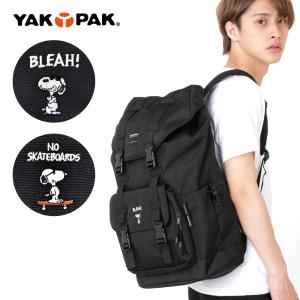 バックパック YAKPAK ヤックパック リュック SNOOPY スヌーピー  メンズ レディース マウンテン アウトドア|actionbag