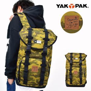 バックパック YAKPAK×SNOOPY JOE COOL ヤックパック×スヌーピー バックパック Mサイズ|actionbag