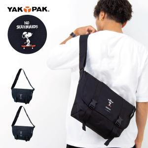 メッセンジャーバッグバッグ YAKPAK×SNOOPY ヤックパック×スヌーピー ショルダーバッグ メンズ レディース アウトドア|actionbag