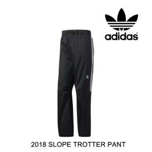 2018 ADIDAS アディダス パンツ SLOPE TROTTER PANT BLACK/WHITE