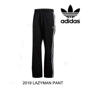 2019 ADIDAS アディダス パンツ LAZYMAN PANT BLACK/WHITE