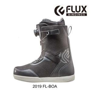2019 FLUX フラックス スノーボードブーツ SNOWBOARD BOOT FL-BOA BLACK/WHITE