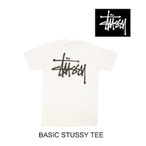 2019 STUSSY ステューシー ベーシック Tシャツ BASIC STUSSY TEE WHI...