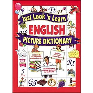 Just Look'n Learn English Picture Ditionary|active-english