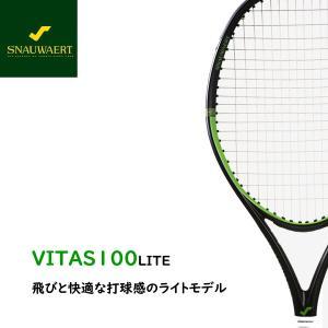 硬式テニス ラケット スノワート SNAUWAERT ビタス100ライト VITAS100LITE|active650
