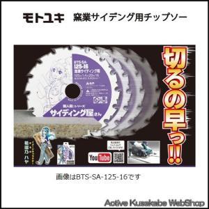 モトユキ 窯業サイディング用チップソー BTS‐SA‐100‐14 外径100mm 歯数14|activekusakabe