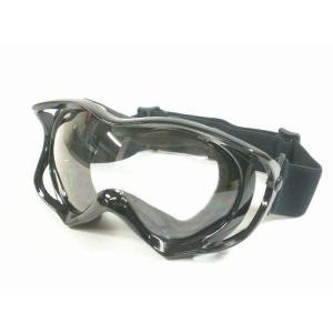 ゴーグル スポーツ用 透明レンズ 黒 (STYLE-9K)/アウトドアやアクティビティに|activity-base