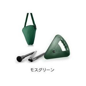 折りたたみ椅子 アウトドア ゴルフ観戦に最適な杖にもなりコンパクトに持ち運べる一本足の折りたたみイス Flipstick-フリップスティック- モスグリーン|actlive2