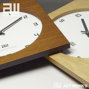 <title>actwork's スクエアクロック 電波時計 アクトワークス メーカー公式ショップ</title>