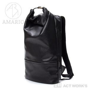 AMARIO ショッピング crum 年間定番 DP -leather edition- リュックサック ノートパソコン バックパック PCバッグ アマリオ 姫路レザー