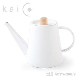 kaico ドリップケトル -K-017- カイコ 琺瑯 ほうろう キッチン用品 日本製 薬缶 ヤカ...