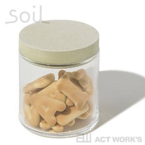 soil フードコンテナ ガラス ソイル 珪藻土 吸水性 吸湿 調湿性 石動 イスルギ