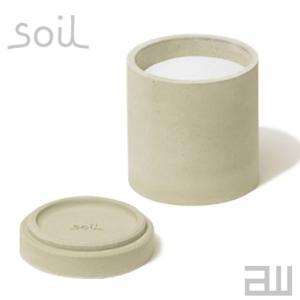 soil フードコンテナ サークル Sサイズ 丸型 ソイル 保存容器 フードストレージ 珪藻土 吸水...