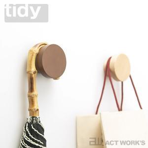tidy マグネットフック ティディー テラモト 収納 磁石 Magnet Hook 玄関 ドア 傘立て 帽子 靴ベラの写真
