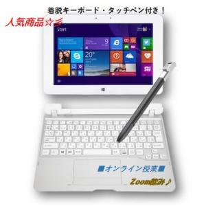 美品 タブレットPC ARROWS Tab Q584/H (FARQ0200GZ) Atom Z3770 4GB/SSD64GB/サブ機にもGOOD /Zoom/..