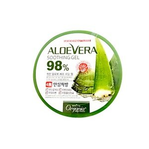 オーガニック 化粧品 オーガニア アロエベラジェル 98%配合 スーディングジェル/アロエジェル/日焼け ケア(メール便不可)