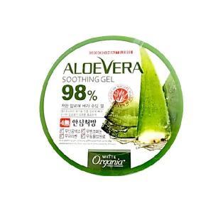 (3個SET)オーガニア/アロエベラ(アロエジェル)98%配合 スーディングジェル(送料無料)