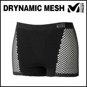 MILLET (ミレー) LD DRYNAMIC MESH SHORT (ドライナミック メッシュ ショーツ) (ブラック)|ad-cycle