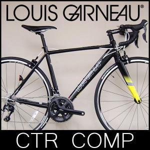 ロードバイク ルイガノ CTR COMP (グロスブラック) 2017 LOUIS GARNEAU|ad-cycle