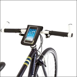veloline 完全防水スマートフォンホルダー ブラック ad-cycle