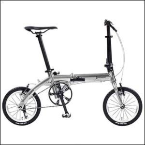 折り畳み自転車 RENAULT PLATINUM LIGHT6 14インチ AL折りたたみバイク メタリックシルバー ルノー(AL-FDB140) |ad-cycle