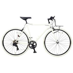 OSSO (オッソ)18R310-CR クロモリ クロスバイク  (マットホワイト)|ad-cycle