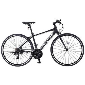 クロスバイク サカモト 700CエアーオンII (ブラック) 2018 / SAKAMOTO air-on II|ad-cycle