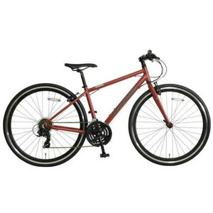 OSSO (オッソ)18V330-AL (VISION) アルミ クロスバイク  (MATTE REDDISH BROWN)|ad-cycle