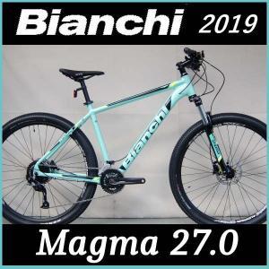 Bianchi ビアンキ マウンテンバイク マグマ27.0 (チェレステ/ブラック/イエロー) BIANCHI MAGMA 27.0 2019|ad-cycle