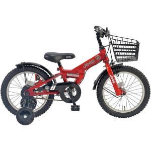 幼児用自転車 JEEP JE-18G (レッド) ジープ JE 18 2019 子供用自転車 キッズバイク|ad-cycle