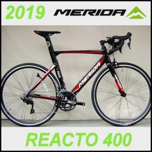 ロードバイク メリダ リアクト 400 (ブラック(TEAM REPLICA)   EKC2) 2019 MERIDA REACTO 400 ad-cycle