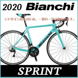 ビアンキ Bianchi ロードバイク スプリント 105 2020年モデル (チェレステ) Bia...