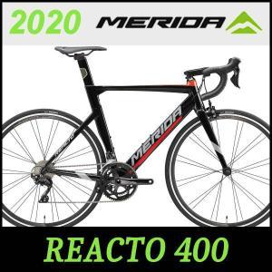 MERIDA ロードバイク メリダ リアクト 400 (グロッシーブラック/レッド(EKRJ))20...