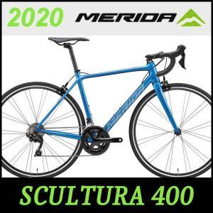 MERIDA ロードバイク メリダ スクルトゥーラ 400 (シルクライトブルー(EB78))202...