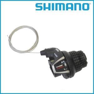SHIMANO(シマノ) SL-RS35-7R 7Sレボシフトレバー / ブラック|ad-cycle