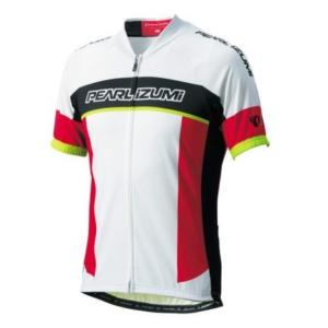 PEARL IZUMI (パールイズミ) サイクリング プリントジャージ (メンズ)  (31 パールイズミホワイト) Lサイズ ad-cycle