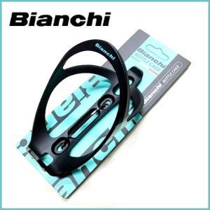 BIANCHI   Plastic Bottle Cage BC154P-D (ビアンキ プラスチックボトルケージ) ブラック ad-cycle