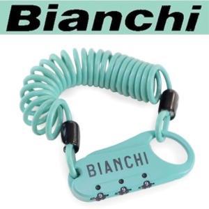 ビアンキ(Bianchi) ミニロック A / COMBINATION LOCK / CELESTE / P02020001 ad-cycle