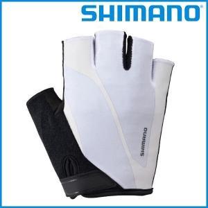 SHIMANO Classic Glove (ホワイト) シマノ クラシック グローブ メンズ サイクル ウェア Mens / Mサイズ|ad-cycle