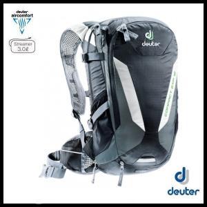 ドイター コンパクト EXP 12 (ブラック/グレー) deuter Compact EXP 12  バイク バッグ リュック D3200215-7410 ad-cycle