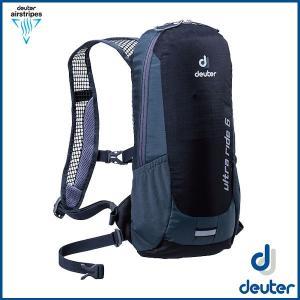 ドイター ウルトラライド 6  (ブラック/グレー) deuter Ultra Ride 6 バックパック リュック D4200816-7720 ad-cycle