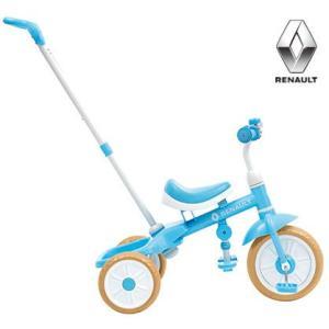 子供用自転車 RENAULT TRICYCLE (ブルー) ルノー トライサイクル 幼児用自転車 三輪車 ad-cycle
