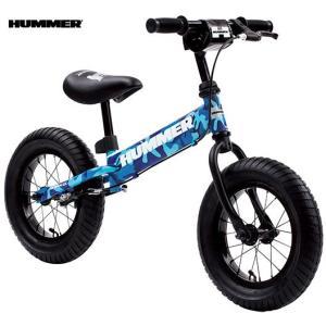 子供用自転車 HUMMER TRAINEE BIKE (カモフラージュブルー) ハマー トレーニー バイク 幼児用自転車 キックバイク|ad-cycle